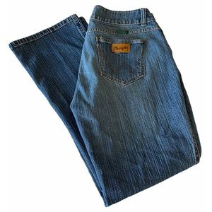 Wrangler boot cut jeans size 10